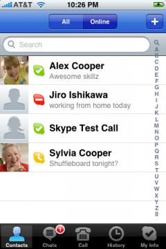 Skype (iPhone)