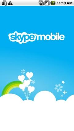 Skype mobile on Verizon (Android)