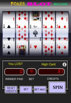 Slot Machine Poker Lite (iPhone)