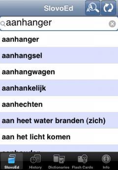 SlovoEd Compact Dutch-Portuguese & Portuguese-Dutch Dictionary (iPhone/iPad)