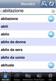 SlovoEd Compact French-Italian & Italian-French Dictionary (iPhone/iPad)