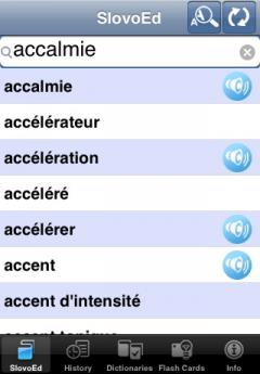 SlovoEd Compact French-Spanish & Spanish-French Dictionary (iPhone/iPad)