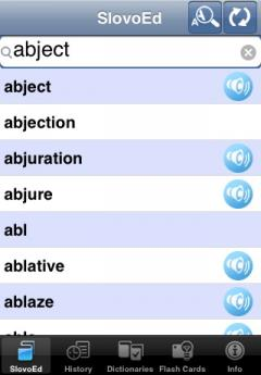 SlovoEd Deluxe Czech-English & English-Czech Dictionary (iPhone/iPad)