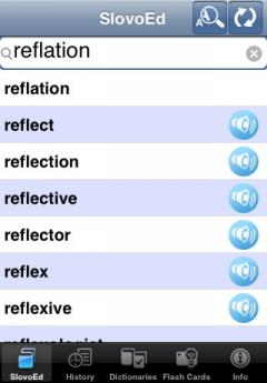 SlovoEd Deluxe English-Russian & Russian-English Dictionary (iPhone/iPad)