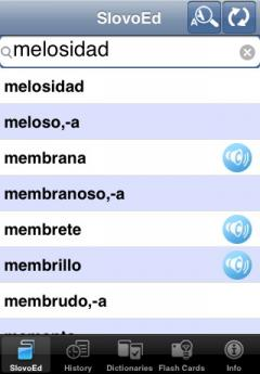 SlovoEd Deluxe English-Spanish & Spanish-English Dictionary (iPhone/iPad)