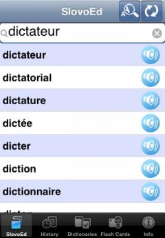 SlovoEd Deluxe French-German & German-French Dictionary (iPhone/iPad)
