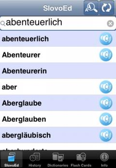 SlovoEd Deluxe German-Czech & Czech-German Dictionary (iPhone/iPad)