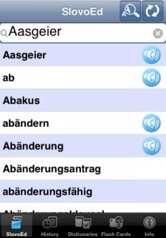 SlovoEd Deluxe German-Spanish & Spanish-German Dictionary (iPhone/iPad)
