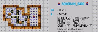 Логическая игра Sokoban