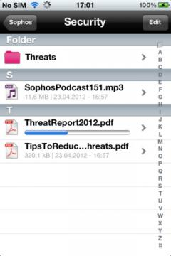 Sophos Mobile Encryption for iPhone/iPad