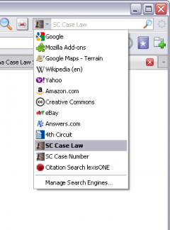 South Carolina Case Law Search - Firefox Addon