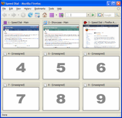 Speed Dial - Firefox Addon