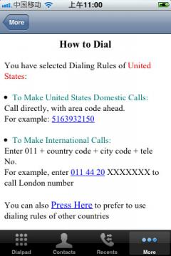 Speed Dial for iPhone