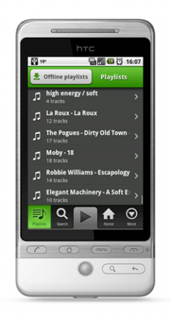 Spotify Mobile (Android)