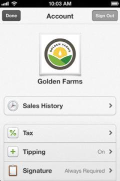 Square Register for iPhone/iPad