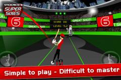 Stick Cricket Super Sixes for iPhone/iPad