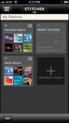 Stitcher Radio for iPhone/iPad