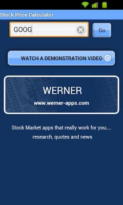 Stock Price Calculator Pro
