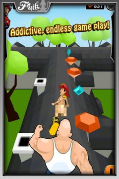 Streaker Run for iPhone/iPad