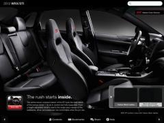 Subaru 2012 WRX STI Dynamic Brochure