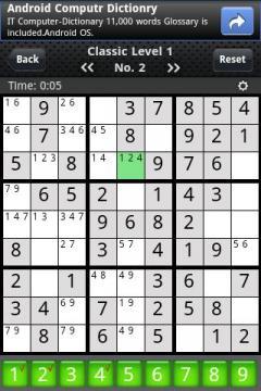 Sudoku Classics (Android)
