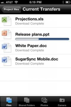 SugarSync (iPhone/iPad)