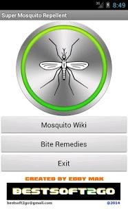 Super Mosquito Repellent