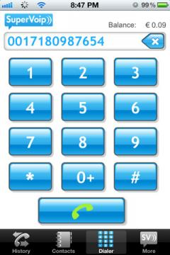 SuperVoip for iPhone