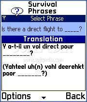 Survival Phrases English-French for Series 60