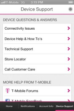 T-Mobile My Account for iPhone/iPad