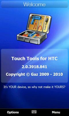 Touch Tools for HTC