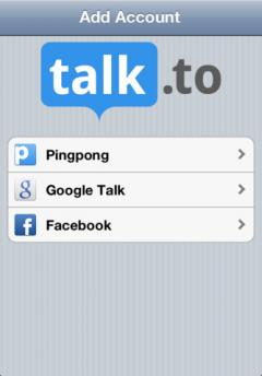 Talk.to for iPhone