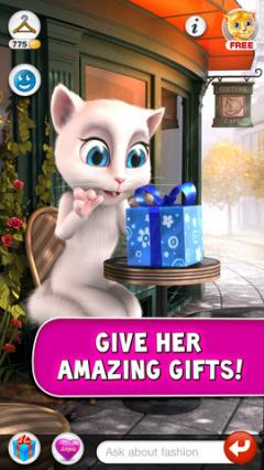 Talking Angela for iPhone