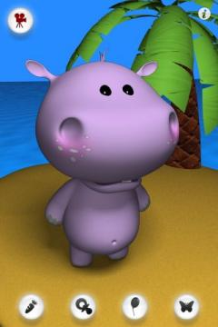 Talking Baby Hippo for iPhone