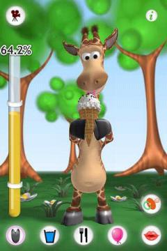 Talking Gina the Giraffe for Android