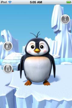 Talking Gwen the Penguin