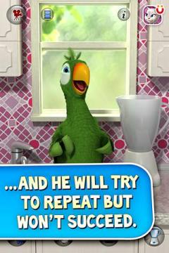 Talking Pierre the Parrot for Android