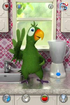 Talking Pierre the Parrot for iPhone