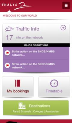 Thalys for iPhone