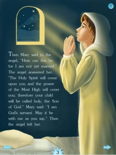 The Children's Bible: Jesus Is Born at Bethlehem (iPhone/iPad)