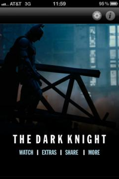 The Dark Knight: App Edition