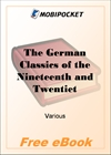 The German Classics of the Nineteenth and Twentieth Centuries, Volume 09 for MobiPocket Reader