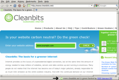 The Green Web - Firefox Addon