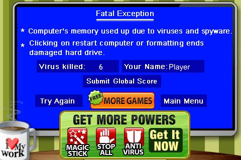 Virus Game Kill The World