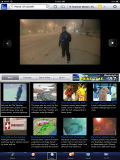 The Weather Channel (iPad)