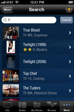 TiVo for iPhone/iPad