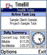 TimeBill for Series 60