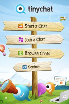 Tinychat for iPhone/iPad