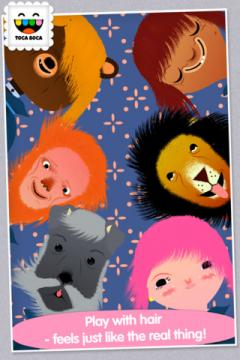 Toca Hair Salon for iPhone/iPad