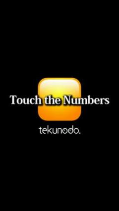 Touch the Numbers
